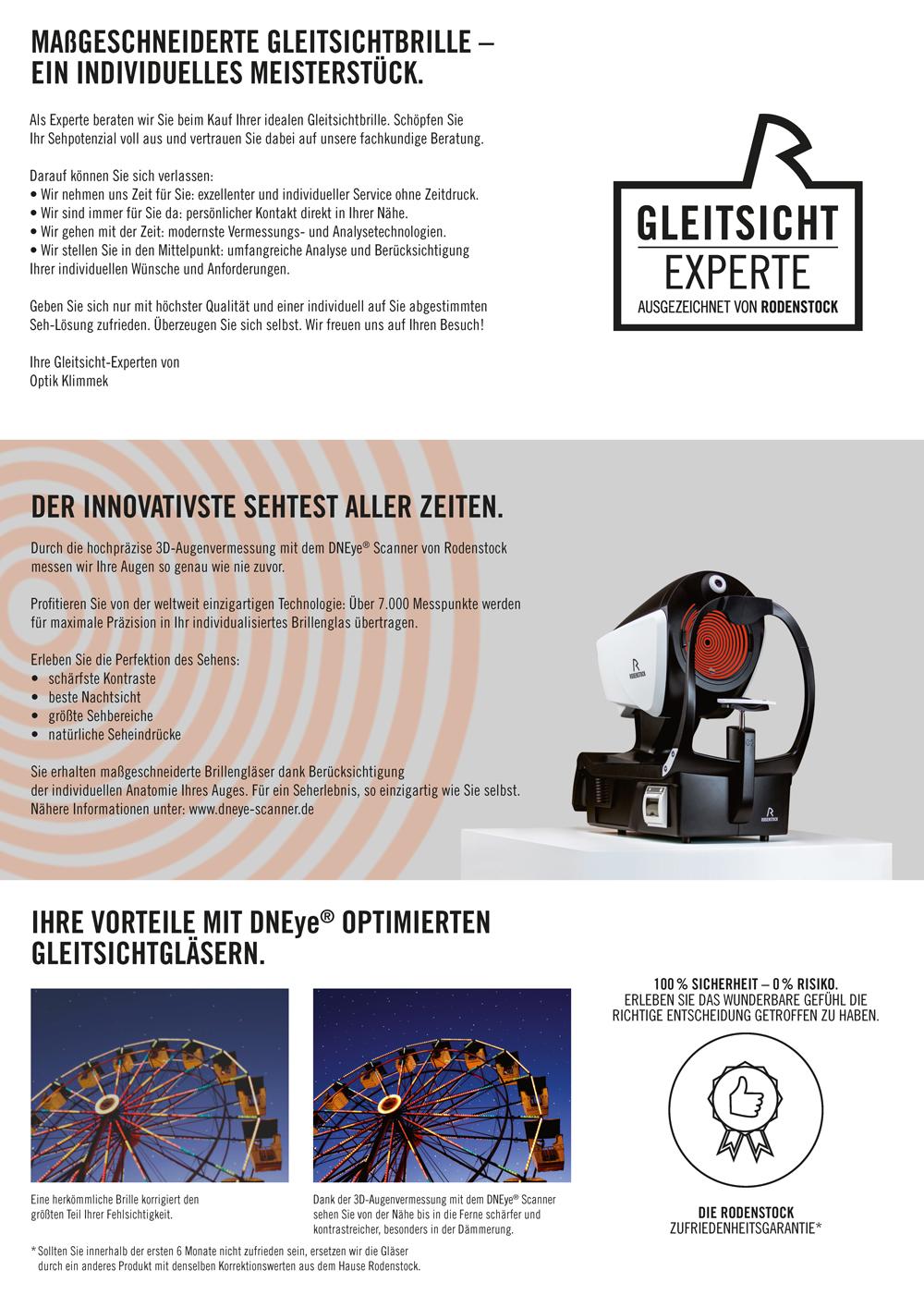 100 € Gutschein für 3D Augenvermessung + Brillengläser